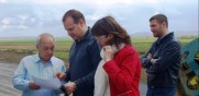 "Eng. Lazarov and Minister Zaharieva inspected  Lot 4.2 of   ""Trakia"" Motorway"